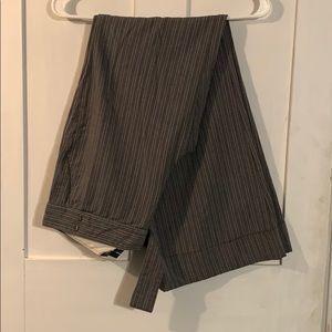 Old Navy dress pants - grey pin stripes